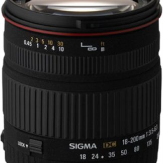 Sigma 18-200mm f/3.5-6.3 DC Pentax Fit