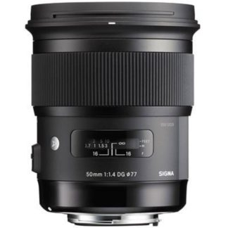 Sigma 50mm F1.4 DG HSM Art Lens for Sony A-mount
