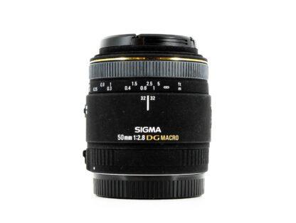Sigma 50mm f/2.8 EX DG Macro, Canon EF Fit Lens