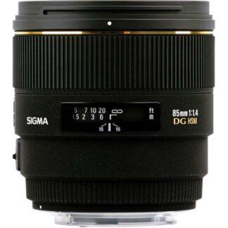 Sigma 85mm f1.4 EX DG HSM Canon Fit Lens