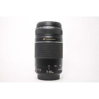Canon EF 75-300mm f/4-5.6 II III USM Ultasonic Macro Telephoto Zoom Lens