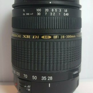 Tamron 28-300mm f/3.5-6.3 XR Di LD Aspherical IF Macro Canon EF Lens