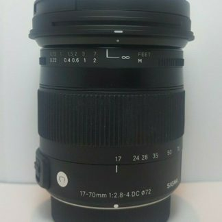 Sigma 17-70mm F2.8-4 DC Macro OS HSM 'C' for Pentax