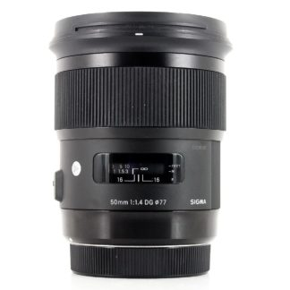 Sigma 50mm f/1.4 DG HSM Art Lens Canon