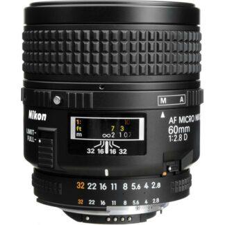 Nikon AF Micro NIKKOR 60mm F2.8D Lens