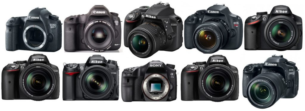 Incredible Change of the DSLR's