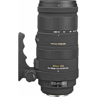Sigma 120-400mm f/4.5-5.6 APO DG OS HSM Nikon Fit Lens