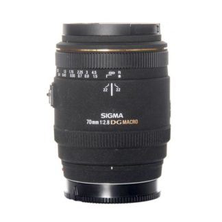 Sigma 70mm f/2.8 EX DG Macro Sony Lens