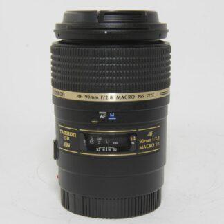 Tamron SP AF 90mm f/2.8 Di Macro Sony A Fit Lens (Model: 272E)