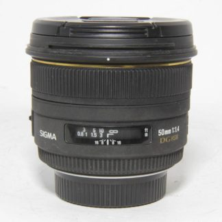 Sigma 50mm1.4 EX DG HSM Nikon Lens