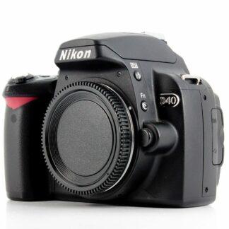 Nikon D40 6.1MP Digital SLR Camera Black (Body only)