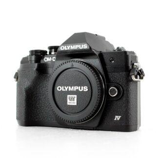 Olympus OM-D E-M10 Mark IV 20.3MP Digital Camera Body Black