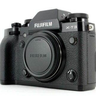 Fujifilm X-T3 26.1 MP Mirrorless Camera Black (Body Only)