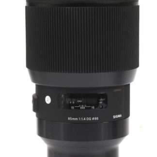 Sigma 85mm F1.4 DG HSM Art Sony FE Fit Lens