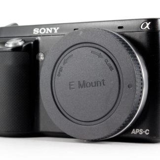 Sony Alpha NEX-F3 16.1MP Digital Camera - Black (Body Only)