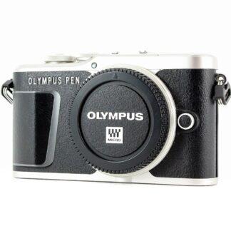Olympus PEN E-PL9 16.1MP Digital Camera Black/white - (Body Only)