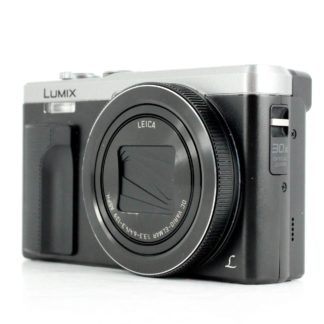 Panasonic LUMIX DMC-TZ8018.1MP Digital Camera Black/Silver