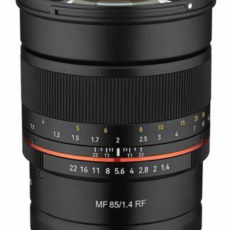 Samyang 85mm F1.4 MF Canon RF Mount Lens