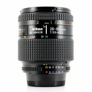 Nikon AF Nikkor 28-105mm f/3.5-4.5D Macro Lens