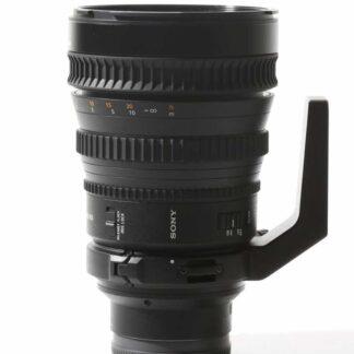 Sony FE 28-135mm f4 G PZ OSS Lens (SELP28135G)
