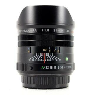 Pentax FA 31mm F1.8 AL Limited Lens - Black