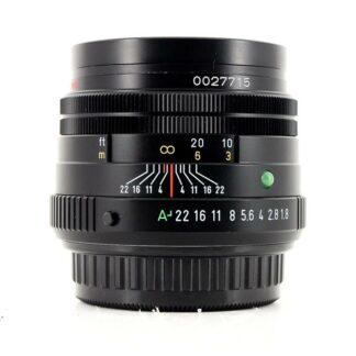 Pentax-FA smc 77mm f1.8 Limited Lens - Black