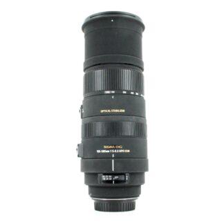 Sigma 150-500mm f/5-6.3 APO DG OS HSM, Canon EF Fit Lens