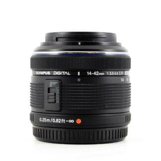 Olympus M.Zuiko Digital 14-42mm f/3.5-5.6 II R Lens - Black