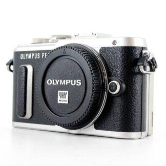 Olympus PEN E-PL8 16.1MP Mirrorless Camera - Black (Body Only)