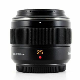 Panasonic Leica Summilux 25mm F/1.4 DG ASPH Lens - Black